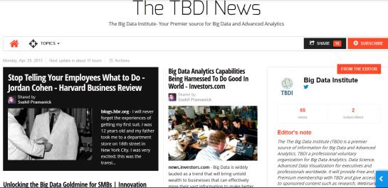 TBDI News