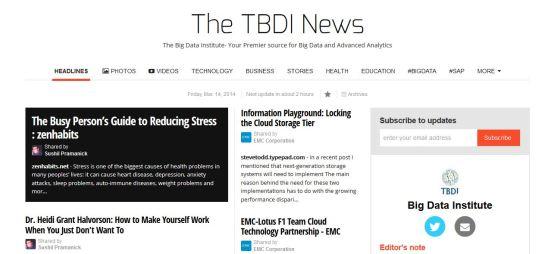 The TBDI News x